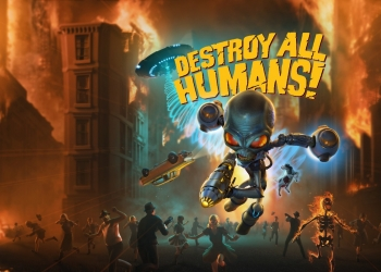 Destroy All Humans! Portada Arata